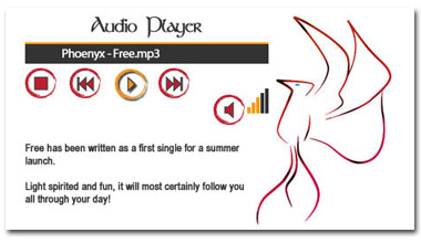 Maquette Audio Player